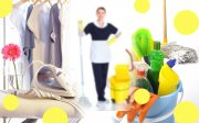 تنظيف خادمة المنزل