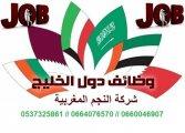 عقود عمل للخليج العربي رجال و نساء