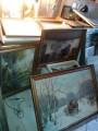 لوحات زيتية اصلية قديمةلا يوجد نسخة طبق الاصل حاملة امضاء صاحبها