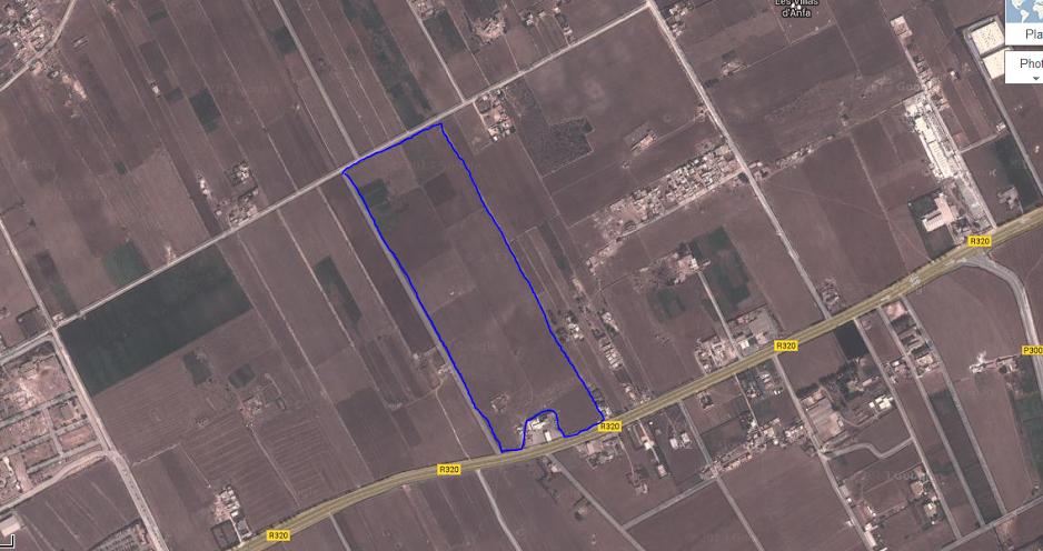 17 hectares a vendre a tamaris zone villa